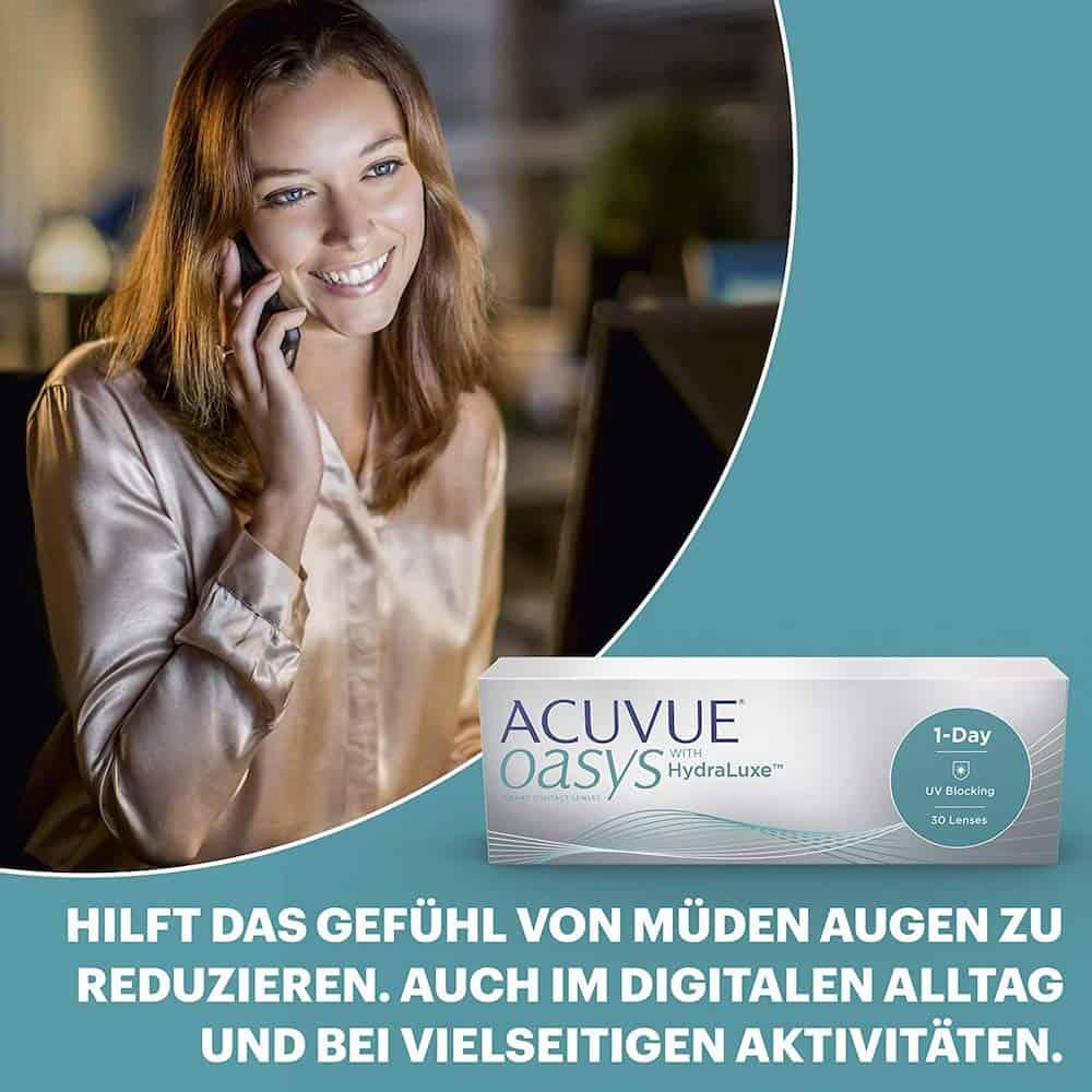 Acuvue Oasys 1-Day Kontaktlinsen